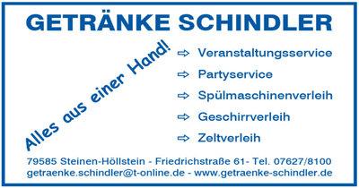 Getränke Schindler in Höllstein