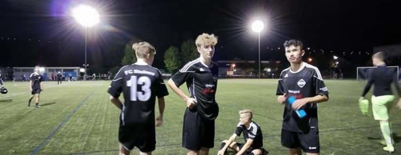 A-Junioren : Viertelfinale im Pokal erreicht