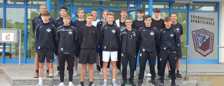 Trainingslager der A-Junioren in der Sportschule Steinbach