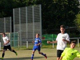 C1 beim Vorbereitungsspiel beim FC Hauingen (17:0)