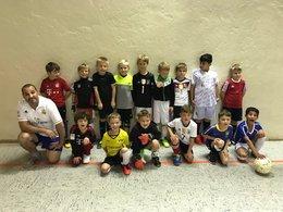 """F-Jugend Training in der """"Alten Halle"""" vom TuS"""